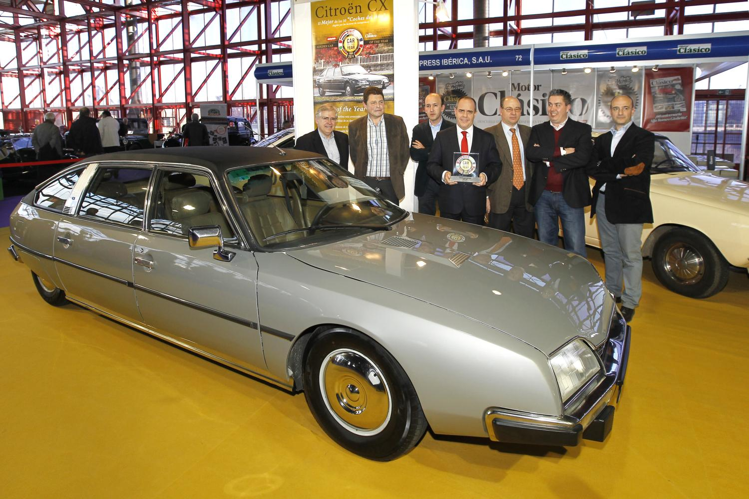 Citroën CX, recibe el Car of the Year de la historia