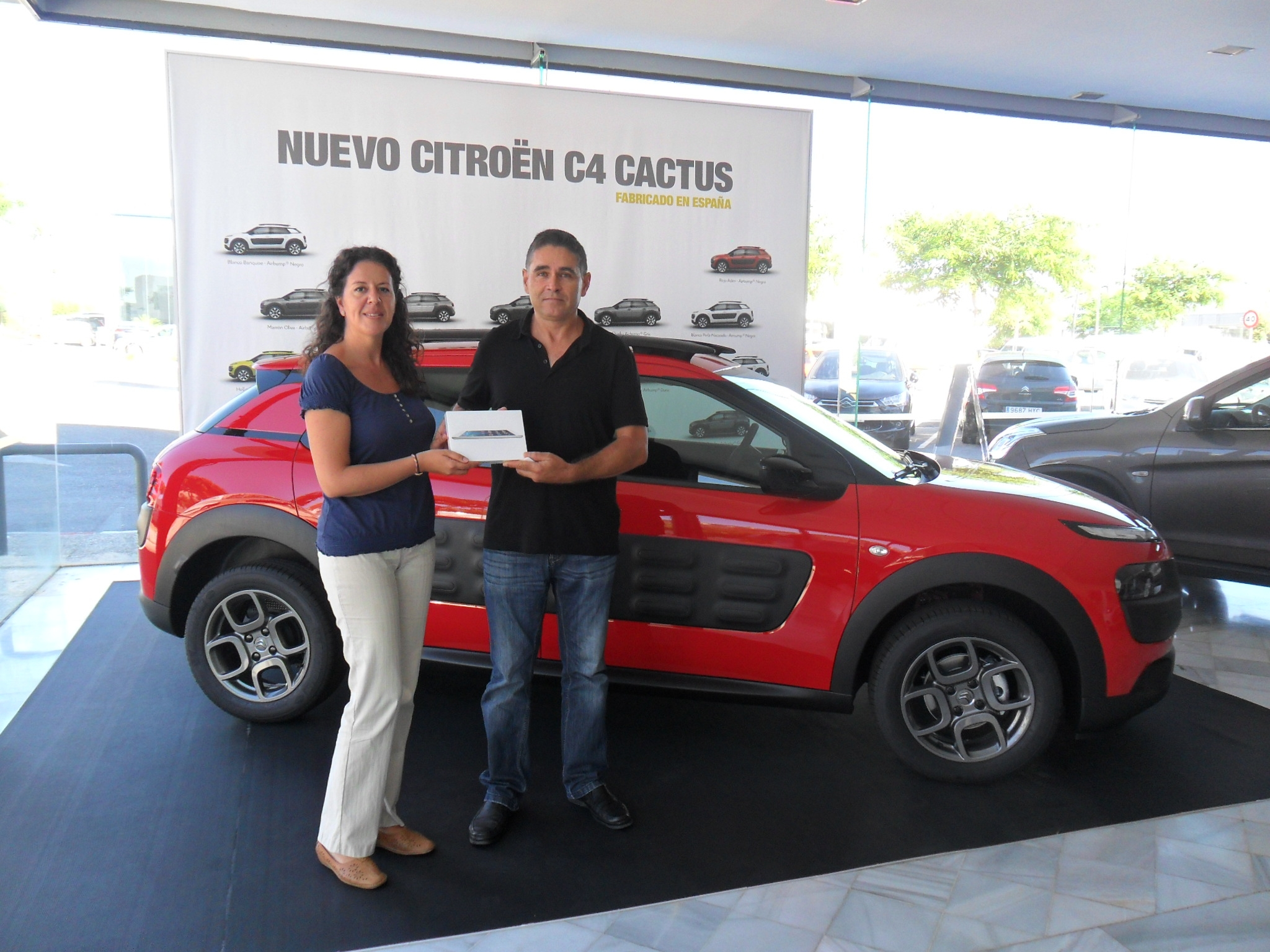Beatriz Araujo y José Carretero