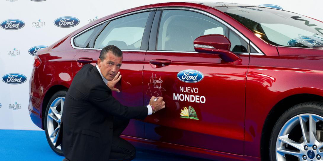 Antonio Banderas y Ford Mondeo en Starlite