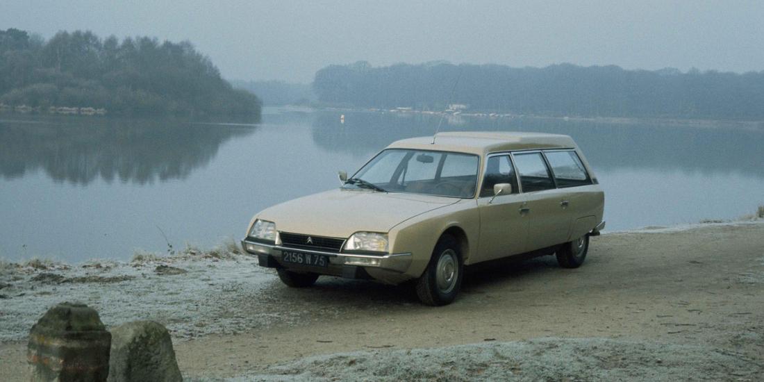 Citroën CX hace 40 años
