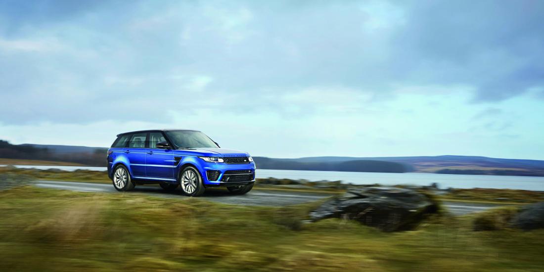 Land Rover presenta el Range Rover Sport SVR