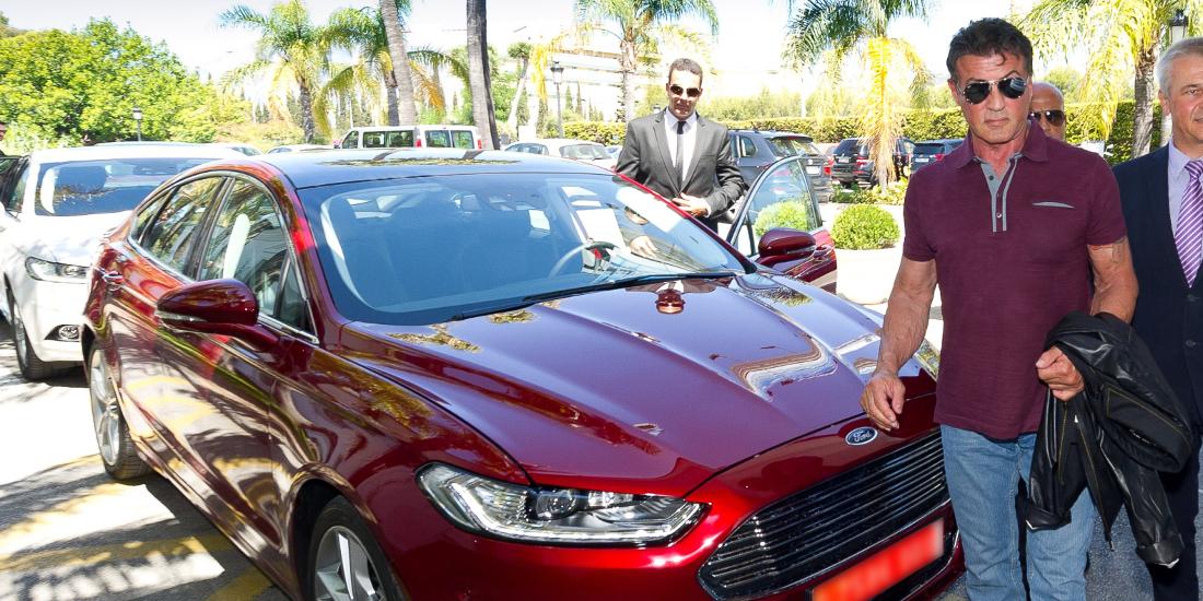 Sylvester Stallone y el nuevo Ford Mondeo