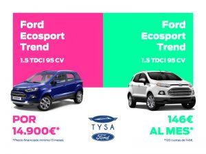 Ford Ecosport en TYSA Ford
